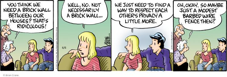 Comic Strip Brian Crane  Pickles 2017-06-06 child
