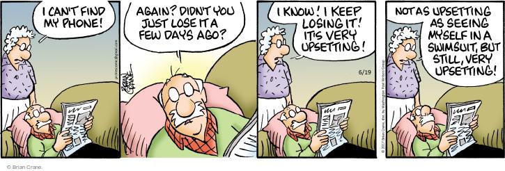 Comic Strip Brian Crane  Pickles 2017-06-19 bath