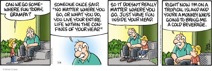 Comic Strip Brian Crane  Pickles 2017-07-04 imagine