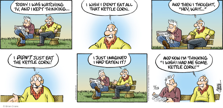 Comic Strip Brian Crane  Pickles 2017-07-23 television