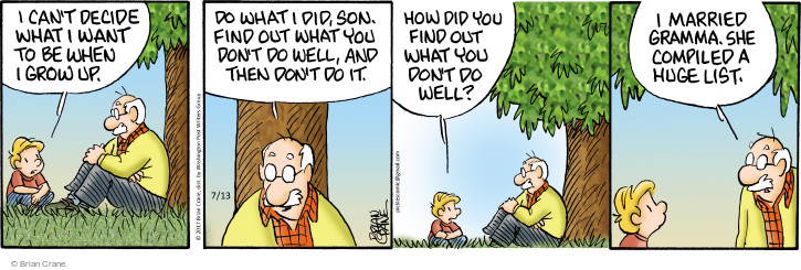 Comic Strip Brian Crane  Pickles 2017-07-13 son