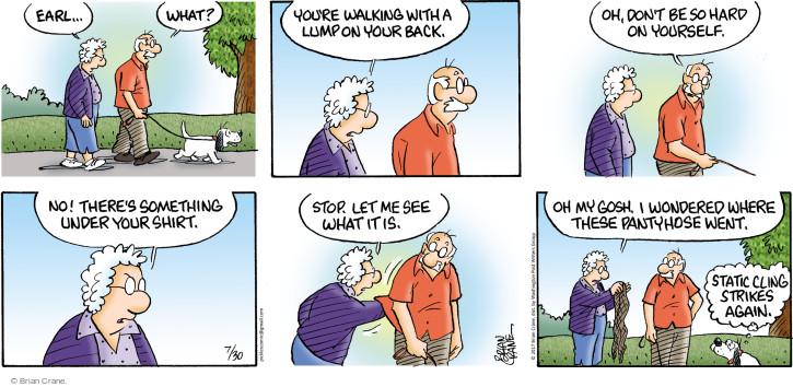 Comic Strip Brian Crane  Pickles 2017-07-30 Earl