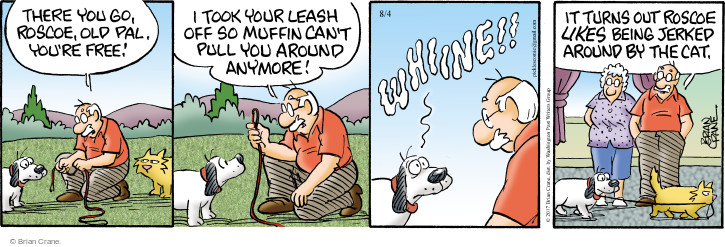 Comic Strip Brian Crane  Pickles 2017-08-04 anymore