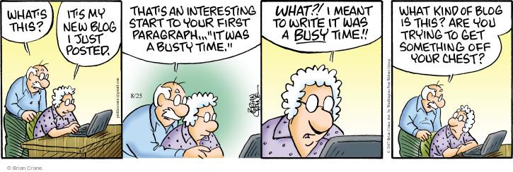 Comic Strip Brian Crane  Pickles 2017-08-25 start