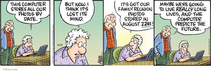 Cartoonist Brian Crane  Pickles 2017-08-30 family