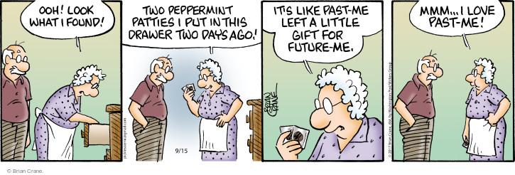 Comic Strip Brian Crane  Pickles 2017-09-15 drawer