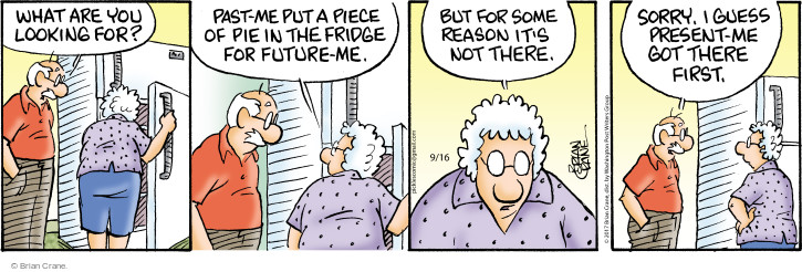 Comic Strip Brian Crane  Pickles 2017-09-16 past