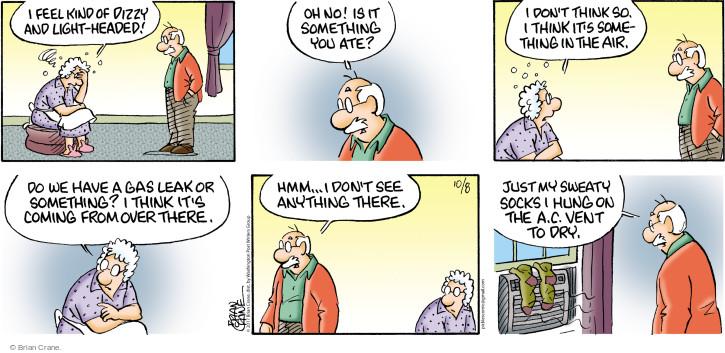 Cartoonist Brian Crane  Pickles 2017-10-08 air conditioner