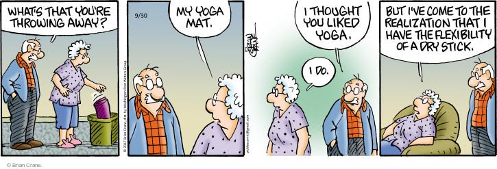 Comic Strip Brian Crane  Pickles 2017-09-30 move