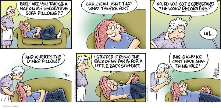 Comic Strip Brian Crane  Pickles 2017-10-22 sofa