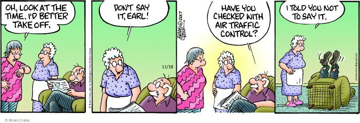 Comic Strip Brian Crane  Pickles 2017-11-18 control