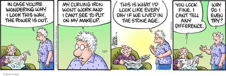 Comic Strip Brian Crane  Pickles 2017-12-01 age difference