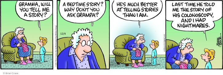 Comic Strip Brian Crane  Pickles 2017-12-04 procedure