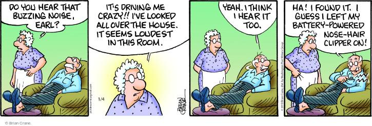 Comic Strip Brian Crane  Pickles 2018-01-04 room