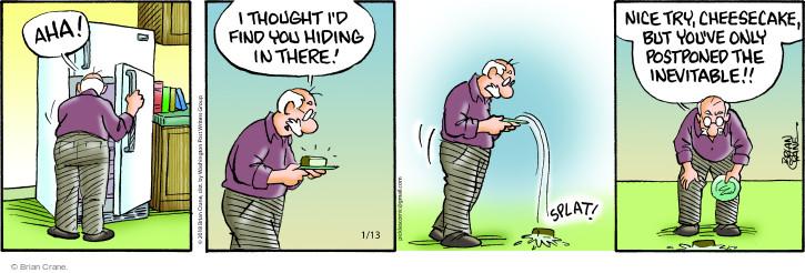 Comic Strip Brian Crane  Pickles 2018-01-13 refrigerator
