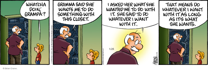 Comic Strip Brian Crane  Pickles 2018-01-25 directions