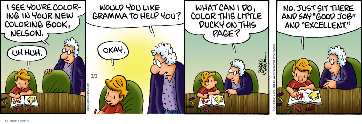Comic Strip Brian Crane  Pickles 2018-02-02 color