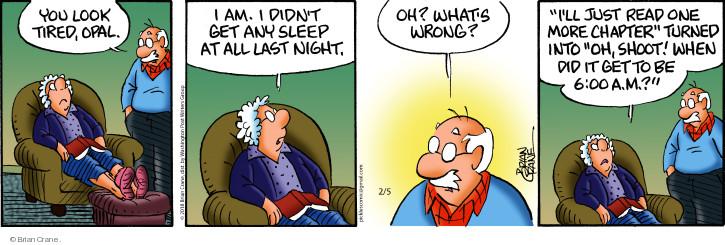 Comic Strip Brian Crane  Pickles 2018-02-05 night