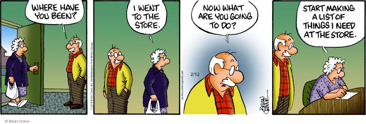 Comic Strip Brian Crane  Pickles 2018-02-12 start