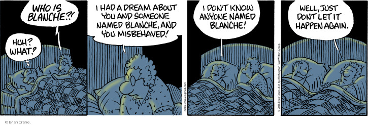 Comic Strip Brian Crane  Pickles 2018-02-24 dream