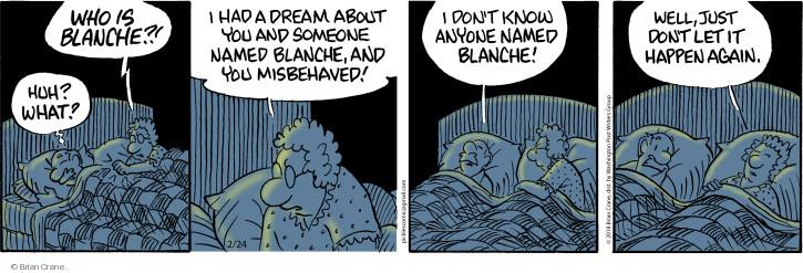 Comic Strip Brian Crane  Pickles 2018-02-24 name