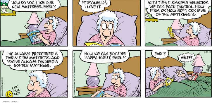 Comic Strip Brian Crane  Pickles 2018-03-18 Earl
