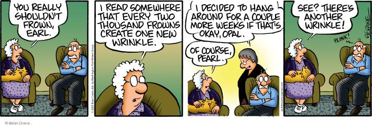 Comic Strip Brian Crane  Pickles 2018-03-07 Earl