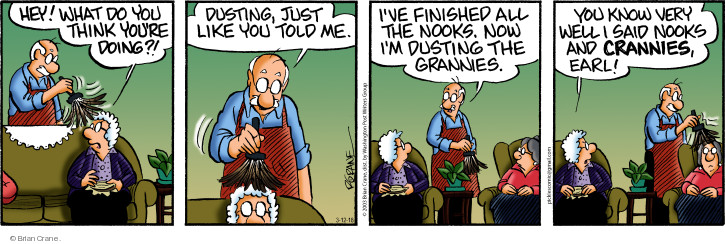 Comic Strip Brian Crane  Pickles 2018-03-12 Earl