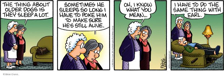 Comic Strip Brian Crane  Pickles 2018-03-28 alive