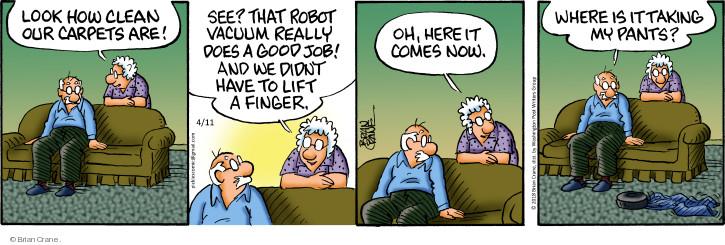 Comic Strip Brian Crane  Pickles 2018-04-11 robotics