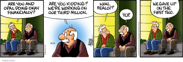 Comic Strip Brian Crane  Pickles 2018-04-24 kid