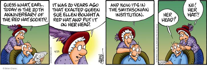 Comic Strip Brian Crane  Pickles 2018-04-25 head