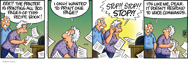Cartoonist Brian Crane  Pickles 2018-04-26 book