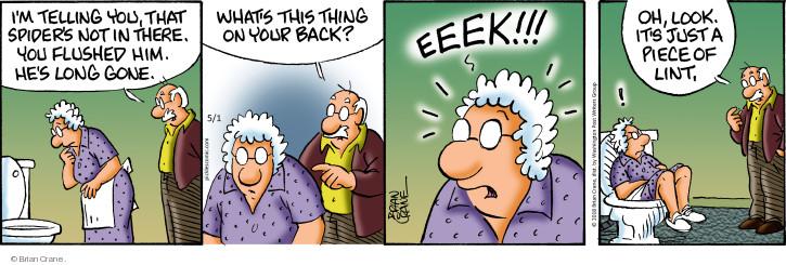 Comic Strip Brian Crane  Pickles 2018-05-01 fear