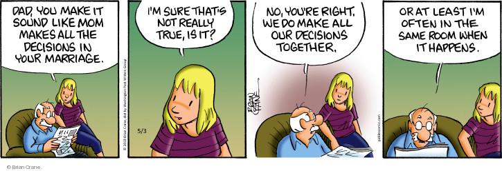 Comic Strip Brian Crane  Pickles 2018-05-03 room