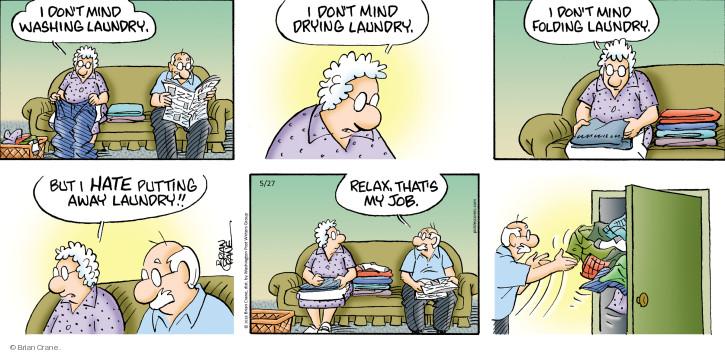 Comic Strip Brian Crane  Pickles 2018-05-27 relax