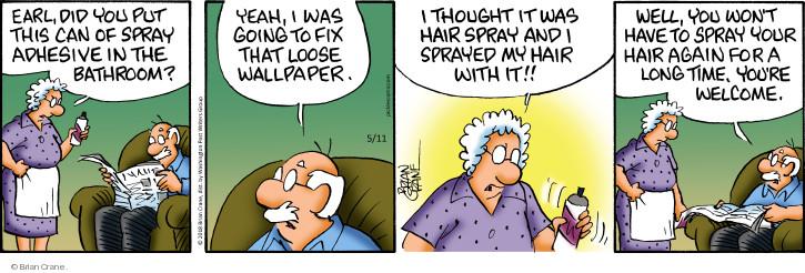Comic Strip Brian Crane  Pickles 2018-05-11 product