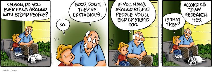 Comic Strip Brian Crane  Pickles 2018-05-15 true