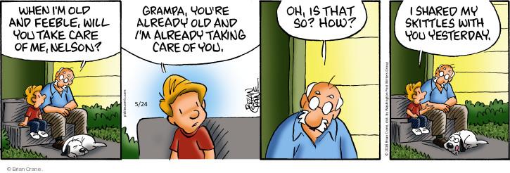 Comic Strip Brian Crane  Pickles 2018-05-24 care