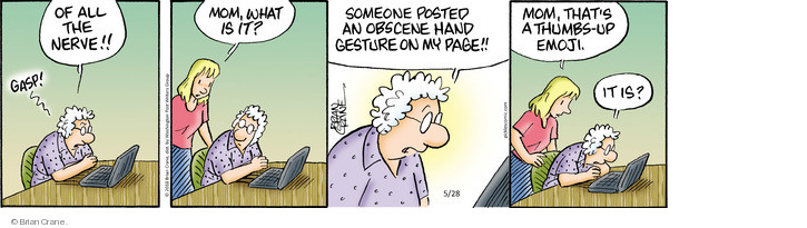 Comic Strip Brian Crane  Pickles 2018-05-28 social
