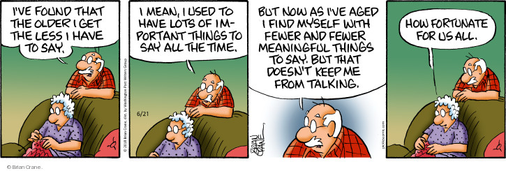 Comic Strip Brian Crane  Pickles 2018-06-21 older