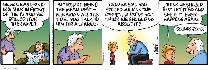 Comic Strip Brian Crane  Pickles 2018-06-26 change