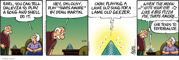 Comic Strip Brian Crane  Pickles 2018-06-28 insult