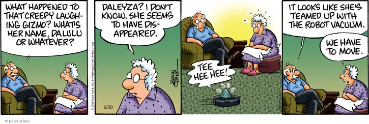 Cartoonist Brian Crane  Pickles 2018-06-30 technology