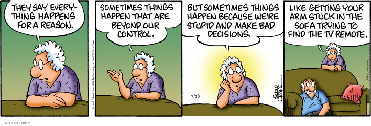 Comic Strip Brian Crane  Pickles 2018-07-28 sofa