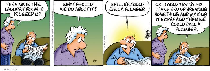 Comic Strip Brian Crane  Pickles 2018-07-25 worse