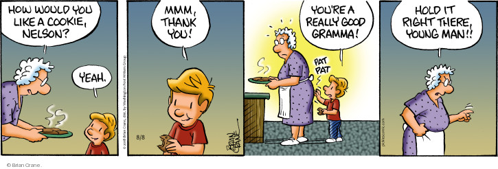 Comic Strip Brian Crane  Pickles 2018-08-08 grandmother