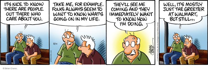 Comic Strip Brian Crane  Pickles 2018-08-11 care
