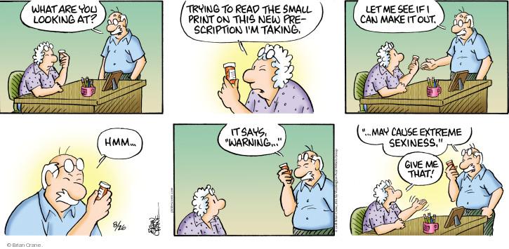 Comic Strip Brian Crane  Pickles 2018-08-26 small
