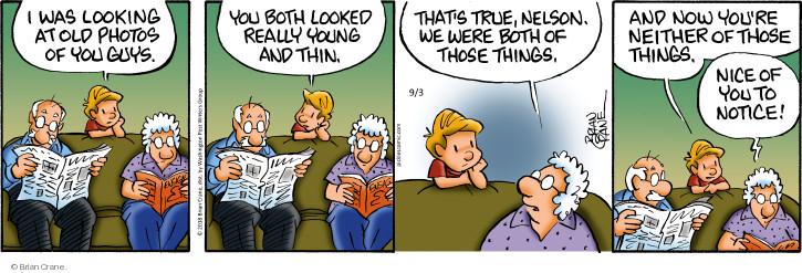 Comic Strip Brian Crane  Pickles 2018-09-03 young
